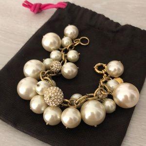 J Crew Pearl Bauble Bracelet